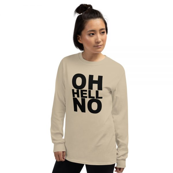 Woman wearing a Mrugacz design tshirt.